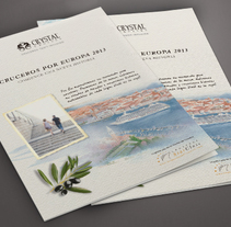 Crystal Cruises. A Design, Editorial Design, Graphic Design, and Art Direction project by Àngela Curto - Feb 21 2013 12:00 AM