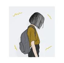 ETHEREAL. Um projeto de Ilustração de Julieta         - 03.05.2015