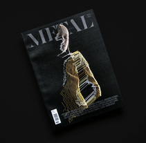 Metal Issue 32. A Editorial Design, T, and pograph project by Manu Rodríguez Chavarría - 05.04.2015
