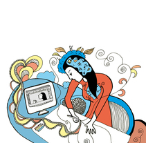 Nuevo proyecto ilustración para la revista de Creactiva. Un proyecto de Ilustración de Anna Lisa  Miele - 05-05-2015