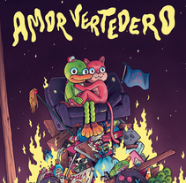 Amor Vertedero. A Illustration, Character Design, and Comic project by Alex Red         - 05.05.2015