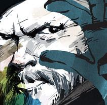 Bajo la Influencia de Orson Welles. A Illustration project by Rafael  Sánchez - 10-05-2015