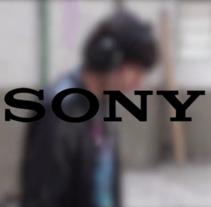 Spot - Sony. Un proyecto de Publicidad, Post-producción y Vídeo de Oihane  - 17-05-2015