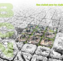 Supermanzana en Barcelona. Un proyecto de Diseño, Ilustración, Arquitectura y Diseño gráfico de U Pagoaga         - 18.05.2015