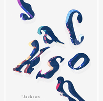 JACKSON. A Illustration, Art Direction, Graphic Design, T, and pograph project by mauro hernández álvarez - May 22 2015 12:00 AM