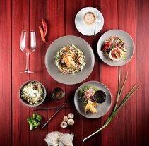 Fotografía para restaurante Tailandés Zao. A Photograph project by Gabriel González         - 24.05.2015