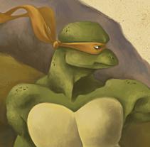 The Creation of Michelangelo. Un proyecto de Ilustración de Elisabeth Castro Martínez - 24-05-2015