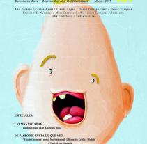 Revista Amateurs. Un proyecto de Diseño, Comisariado, Diseño editorial y Diseño gráfico de Alberto López Álvarez         - 26.05.2015