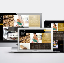 Responsive design The Ternary Restaurant. A UI / UX, Art Direction, and Web Design project by Alicia Bolaño         - 27.01.2015