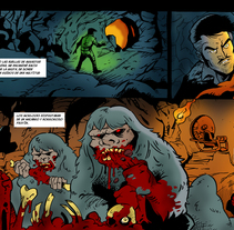 "Tira para ""La Máquina del Tiempo"" (Cómic colectivo de la asoc. Extrebeo). Um projeto de História em quadrinhos de Alberto Peral Alcón - 27-05-2015"