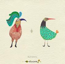 Ilustraciones acuarela. Um projeto de Ilustração e Design de personagens de Beatriz Ramos Tovar         - 29.05.2015