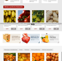 Tienda online frutascarmen.com. Um projeto de Desenvolvimento Web de Alan Cesarini         - 01.06.2015