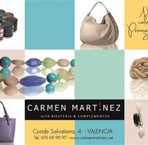 FOTOGRAFIA DE PRODUCTO | CARMEN MARTÍNEZ. A Photograph, Fashion, Jewelr, and Design project by Miguel Zaragozá Abellán         - 04.06.2015