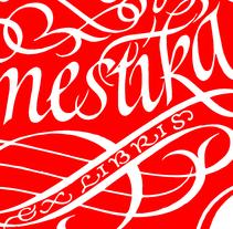 Mi Proyecto del curso Caligrafía para un Ex libris. A Calligraph project by Ricardo Rousselot Schmidt - 10-06-2015