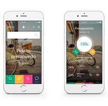 Citiservi versión móvil - concepto. Un proyecto de Diseño Web de César Martín Ibáñez  - 07-06-2015