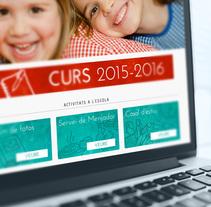 Web Escola Tabor. Un proyecto de Desarrollo Web de Alex Mercadé  - 11.06.2015