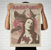 Mi Proyecto del curso Cartelismo ilustrado. A Illustration project by Laura Márquez         - 11.06.2015