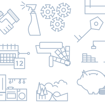 ICON SET. A Web Development, Art Direction, Design&Illustration project by disei - 06.19.2015