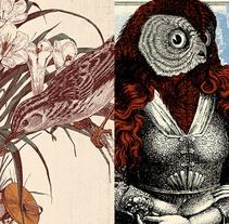 Petit Format & Núria Graham. A Illustration, and Graphic Design project by Alberto Almenara - 21-06-2015