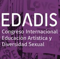 EDADIS. Um projeto de Br, ing e Identidade e Design gráfico de Juliana Muir         - 21.06.2014