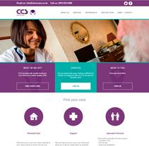Adaptación nueva imagen de All Care y Heath Lodge Care a imagen de CCS. UK 2015. Un proyecto de Br, ing e Identidad y Diseño gráfico de Pedro Guillermo Pérez Rocha         - 24.05.2015