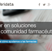 Desarrollo del front end de aplicaciones web de comercio electrónico y trabajo colaborativo en Veridata. Un proyecto de UI / UX, Diseño gráfico y Diseño Web de Esther Martínez Recuero - Lunes, 01 de junio de 2015 00:00:00 +0200