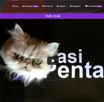 CasiPenta. A Graphic Design, Web Design, and Web Development project by Laura Solanes - 26-06-2015