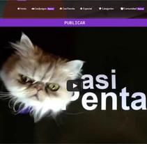 CasiPenta. Um projeto de Design gráfico, Web design e Desenvolvimento Web de Laura Solanes         - 26.06.2015