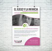 Cartel para Escuela Activa El Salto. Un proyecto de Dirección de arte, Diseño, Diseño gráfico y Publicidad de Alfredo Moya - Jueves, 02 de julio de 2015 00:00:00 +0200