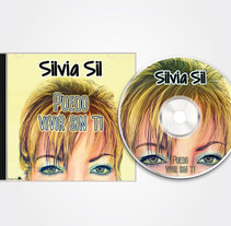 Digital illustration and layout for the cover, back and label of a SYL CD. A Design&Illustration project by Raquel Bertrán         - 04.07.2015