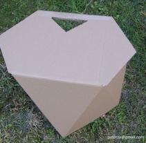 Taburete basado en el Principio de Triangulación. Um projeto de Design de móveis e Design de produtos de Pafz         - 16.05.2010
