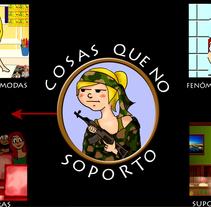 Cosas que nos sacan de quicio. A Illustration, Animation, Character Design, Multimedia, Post-Production, and Video project by Mireia Caballero López         - 05.07.2015