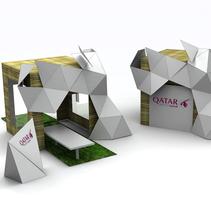 Proyectos Instalaciones Efímeras / PLV. A 3D project by Mariano Ramirez Garcia         - 07.07.2014