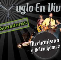 EN VIVO 08 - concurso de música. Un proyecto de Diseño de Adelaida Castro Navarrete - Lunes, 10 de noviembre de 2008 00:00:00 +0100