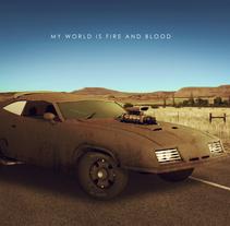 Fury Road. Un proyecto de Ilustración, 3D, Diseño gráfico y Cine de Ari Óscar Martínez Jiménez         - 12.07.2015