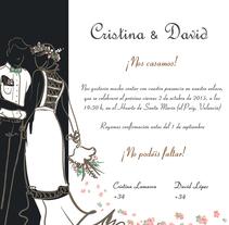 diseño para boda Cristina y David. A Graphic Design project by Joaquin  Lamarca Oliveira         - 19.04.2015