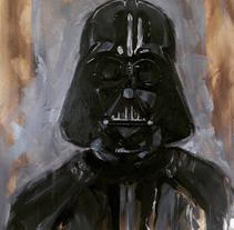 Darth Vader. Un proyecto de Pintura de Ismael Alabado Rodriguez - Jueves, 16 de julio de 2015 00:00:00 +0200