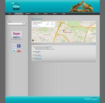 La Casa Scout (Wordpress). Un proyecto de Diseño gráfico, Diseño Web y Desarrollo Web de Adelaida Castro Navarrete - Viernes, 14 de enero de 2011 00:00:00 +0100