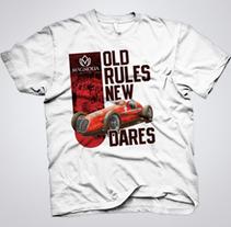 Magnolia T-shirt. Um projeto de Design e Design de vestuário de Ms. Barrons         - 22.07.2015