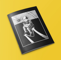 M. A Editorial Design, Fine Art, and Comic project by Bruno Mayol         - 30.06.2014