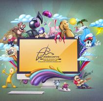 Mi Proyecto del curso Ilustración exprés con Illustrator y Photoshop. Un proyecto de Diseño e Ilustración de Martin Mariano Hernandez Tena - 25.07.2015