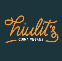 Hiulit's Cuina Vegana. Un proyecto de Ilustración, Diseño gráfico y Caligrafía de Iona Manyoses i Garí         - 26.07.2015