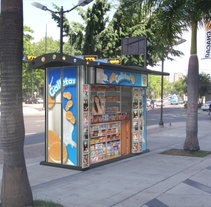 Kiosco Publicitario. A Design, Advertising, and 3D project by Jeannette Gonzalez         - 26.07.2015