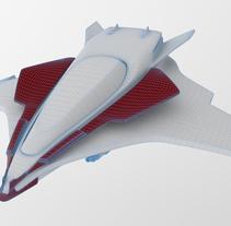 Spaceship 3D. A 3D project by Yolanda Afán         - 14.06.2015