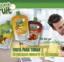 Desarrollo gráfico para Smoofruit. A Editorial Design, Graphic Design, Web Design, and Web Development project by Mediactiu agencia de branding y comunicación de Barcelona  - Jul 29 2015 12:00 AM