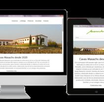 WEB MASACHS. Un proyecto de Diseño Web de Bárbara Masachs López         - 29.07.2015