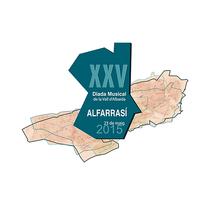 XXV DIADA MUSICAL VALL D'ALBAIDA. A Graphic Design project by Paki Constant - 02-08-2015