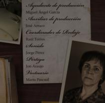 """Títulos de crédito """"LEAH"""". Un proyecto de Cine, vídeo, televisión, Animación, Dirección de arte y Diseño de títulos de crédito de Natalia Peña - 04-05-2010"""