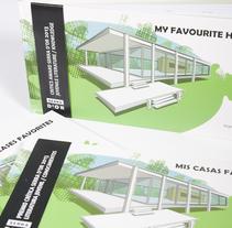 """Libro Ilustrado """"Mis Casas Favoritas"""". Un proyecto de Diseño, Arquitectura, Diseño editorial, Educación y Diseño gráfico de Virginia Lorente Alegre - 14-09-2012"""