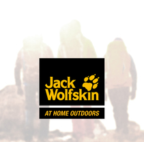 Jack Wolfskin proposal. A Br, ing, Identit, Web Design, Packaging, and UI / UX project by Charlotte Cavellier - Aug 10 2015 12:00 AM
